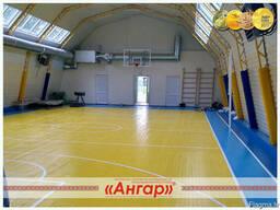 Ангары под разные виды спорта: каток, теннисная площадка, др