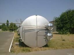Химическая емкость 50м3. емкости из нержавеющей стали, баки, - фото 3