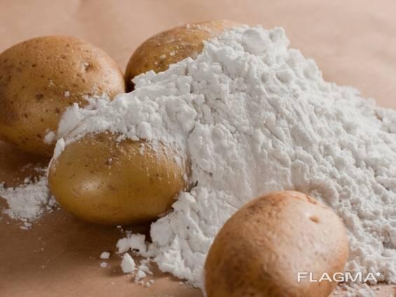 Крахмал картофельный высший сорт, производство РБ, ГОСТ 7699