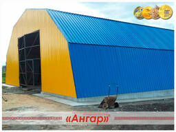 Полукруглые быстровозводимые ангары /склады/модульные здания - photo 2
