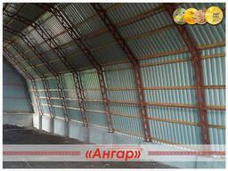 Полукруглые быстровозводимые ангары /склады/модульные здания - photo 4