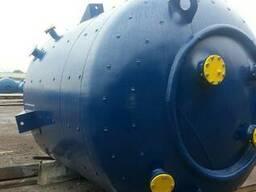 Реактор эмалированный 16 м3. эмаль синяя WWG. Мешалка. - фото 2