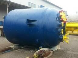 Реактор эмалированный 16 м3. эмаль синяя WWG. Мешалка. - фото 4