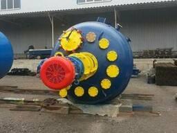 Реактор эмалированный 16 м3. эмаль синяя WWG. Мешалка. - фото 5