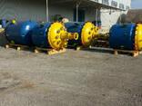 Реактор эмалированный 4 м3. эмаль синяя WWG. Мешалка. - фото 2