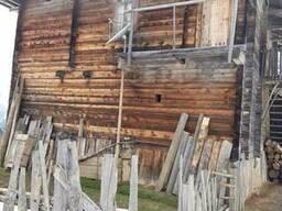 Амбарной древесины старого дерева сосна - фото 3