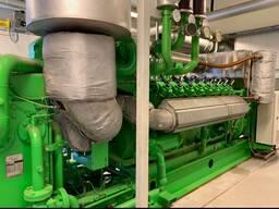 Б/У газовый двигатель Jenbacher J320 GS B05,1000 Квт,1996 г.