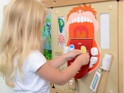 Деревянные игрушки образовательные таблицы stem-игрушки для детского сада игровой комнаты