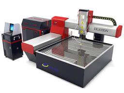 EAAK Гидроабразивная резка с ЧПУ для резки стекла, металла