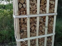 Дрова, в ящике, в сетке, Берёза, Дуб, Firewood