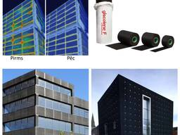 Giscolene F EPDM - membrāna logu un durvju konstrukciju, fasāžu sistēmu hidroizolācijai.