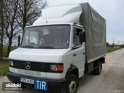 Доставка грузов из Москвы и Санкт-Петербурга в Латвию.