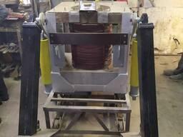 Индукционная сталеплавильная печь ИСТ-0,3