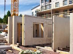 Изготовление панелей для каркасно-панельного дома.