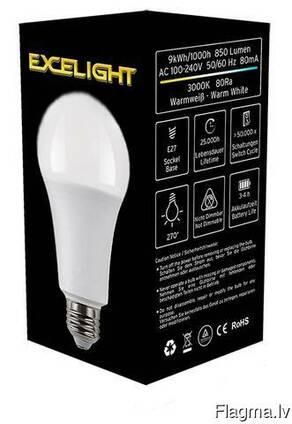 Лампа Е27, 5 Вт, с резервной системой питания