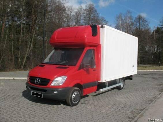 Международные перевозки личных вещей, грузов по Европе и СНГ