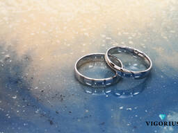 Обручальные кольца ручной работы