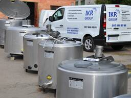 Охладитель молока танк, цистерна, бочка от 200 до 30000 литр