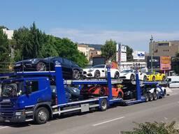 Перевозка автомобилей автовоз Вся Европа Скандинавия Россия