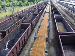 Перевозки грузов по железным дорогам