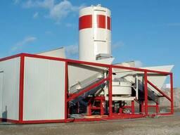 Полумобильный бетонный завод Sumab K-40
