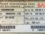 Дисковая ось на коробах SAF SKRB9022WI 247.96.37.7.4 - фото 2