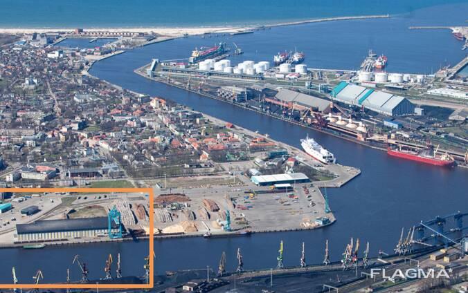 Продажа крупнейшего в странах Балтии склада замороженных продуктов [г. Вентспилс, Латвия]