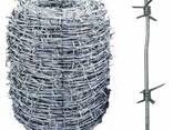 Проволока стальная колючая, гладкая, рифленая, сварочная - фото 2