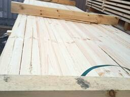 Sawn pine timber, central board, KD18%