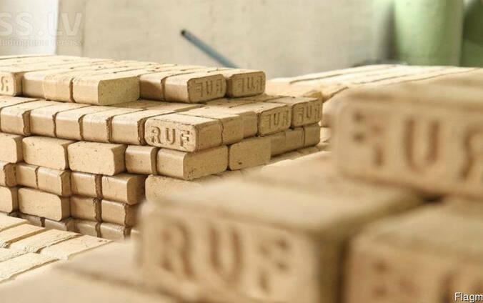 Топливные брикеты RUF изготовлены из берёзы, Fuel briquettes