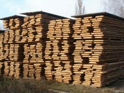 Unedged sawn timber, pine - photo 7