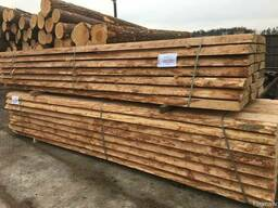Unedged sawn timber, pine - photo 8
