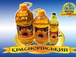 Unrefined sunflower oil