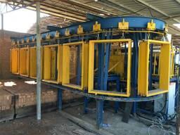 Упаковочная машина кирпич завод в Латвии