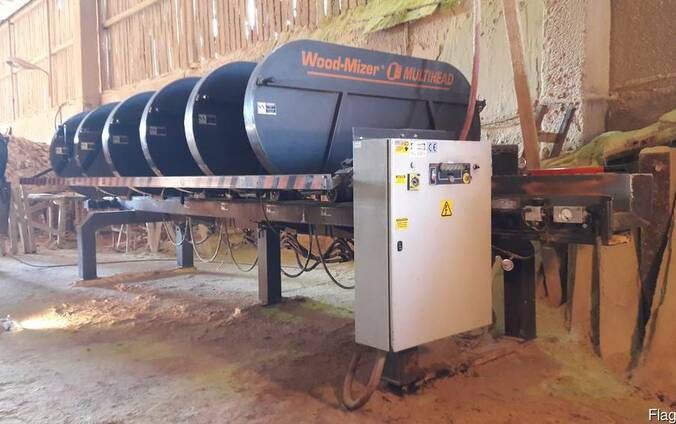 Wood-Mizer Multi шести-головая горизонтальная ленточная пила